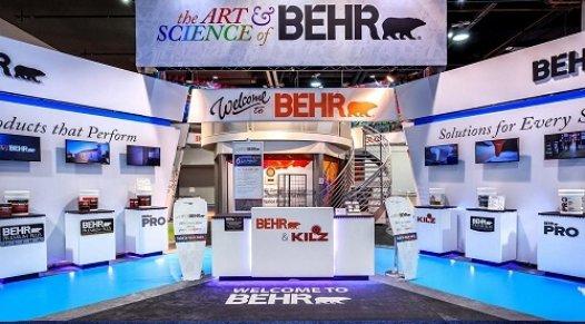 Trade show exhibit - kiosque de salon d
