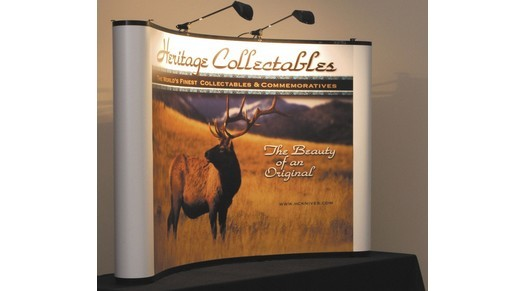 astuces, image de marque et design, kiosque d'exposition, Skyline Entourage