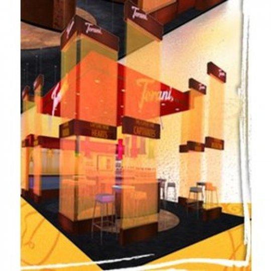 booth design, design and branding, Trade Show Booth, Skyline Entourage