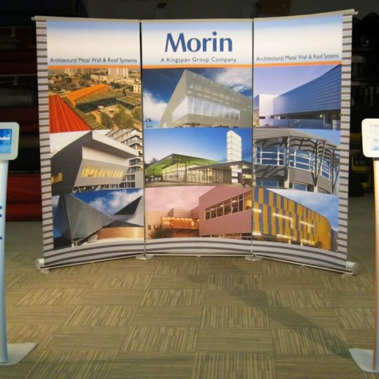 MORIN BANNER STAND DISPLAY