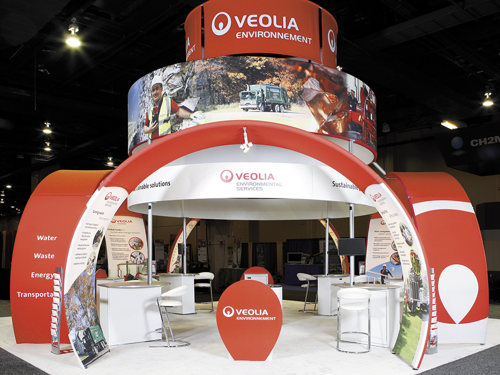 Exhibition Booth En Francais : Ways to build your brand at trade shows skyline