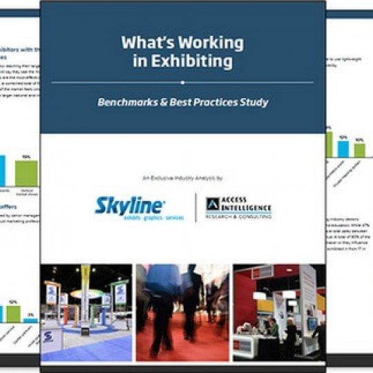 information, marketing et promotions, salon d'exposition, Skyline Entourage