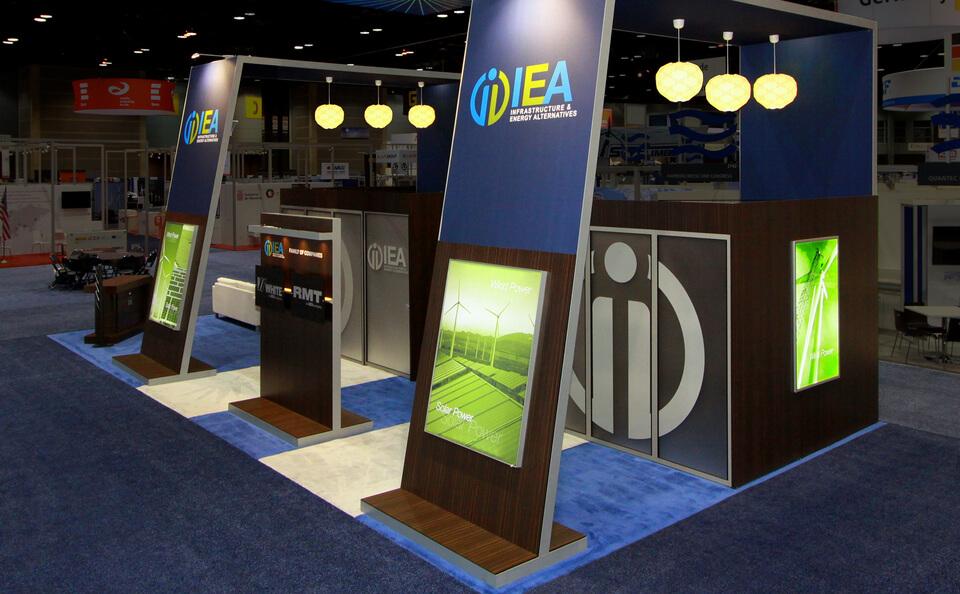 kiosque portatif, stand portatif, kiosque d'exposition, stand d'exposition