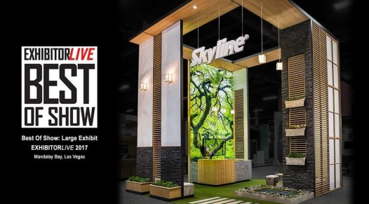 booth design, trends, award, Skyline Entourage
