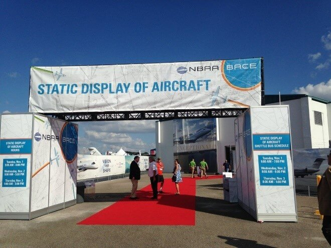 NBAA, aircraft, trade show