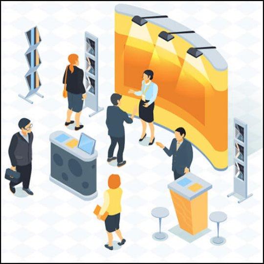 astuces et ressources, gestion de prospects, salon d'exposition, Skyline Entourage