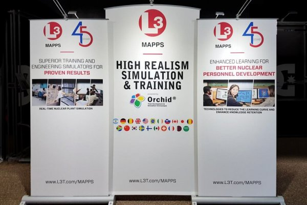 L3 Technologies, Banner Stands, Myriad