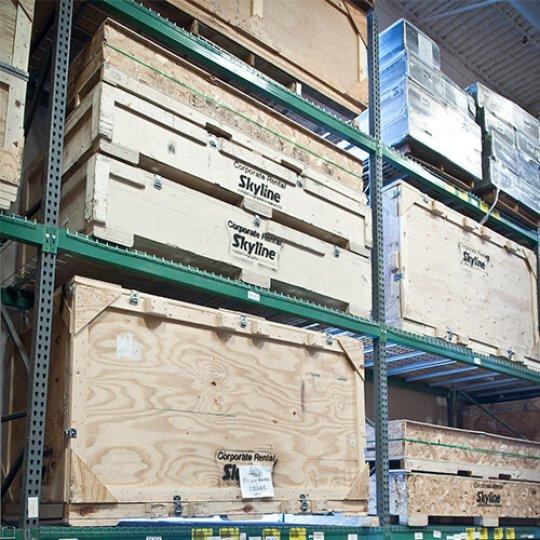 asset management, Planning and logistics, trade show services, Skyline Entourage