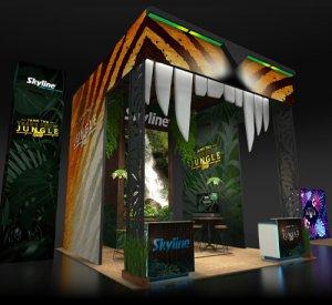 EXHIBITORLIVE, trade show, events, Skyline Entourage
