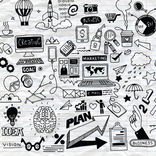 Inbound Marketing, Social Media, Planning, Contenu, Skyline Entourage