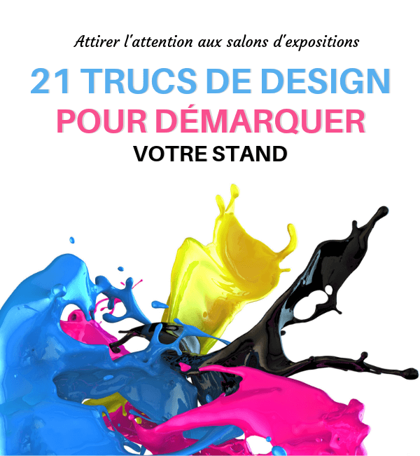 design de stand, salon d'exposition, skyline entourage
