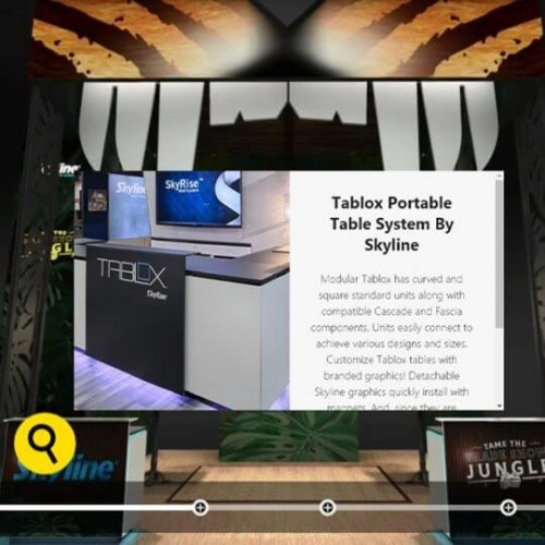 content overlays, touchpoints, videos, skyline entourage