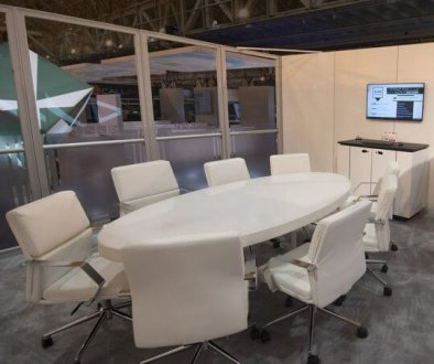 Private conference room, trade show solutions, Skyline Entourage