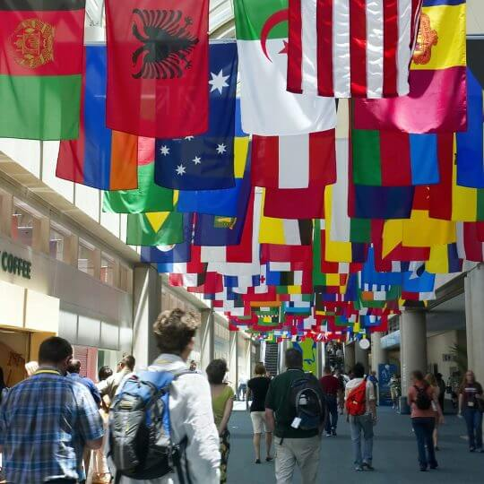 salons internationaux, international trade shows, events, worldwide, exhibiting, skyline entourage