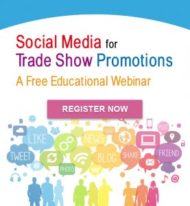 Social media webinar for trade shows, Trade show solutions, Trade show marketing, Skyline Entourage