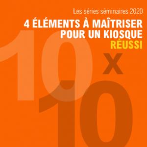 kiosque 10x10, séminaire, stand d'expositions, salon d'exposition, stand, salon professionel, skyline entourage