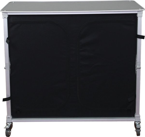zipped and closed portable bar counter, covid-19 business solutions, Skyline Entourage