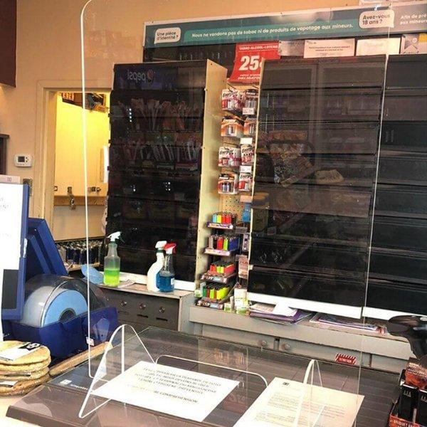acrylic protection panel, office safety, safe, covid-19, coronavirus, skyline entourage