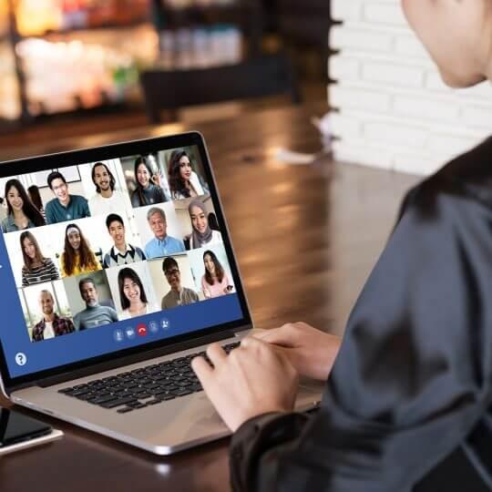 événements virtuels, virtual events, meetings, technologie, technology, marketing, skyline entourage