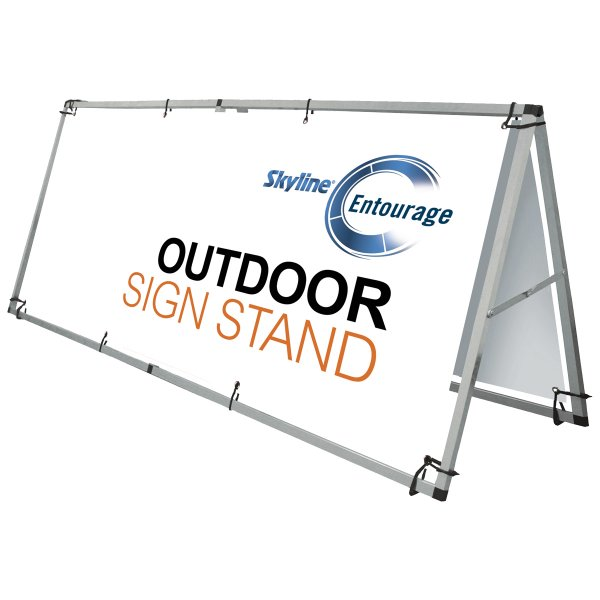 A Frame Outdoor signage, Signage solutions, Covid-19 business solutions, Skyline Entourage