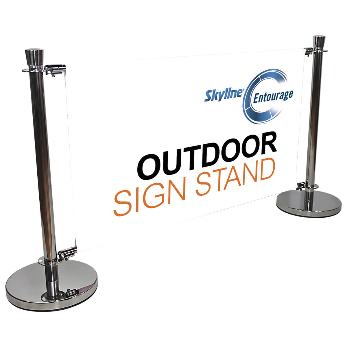 Indoor Outdoor Crowd Control Stanchions and Cafe or restaurant barriers_left-EN