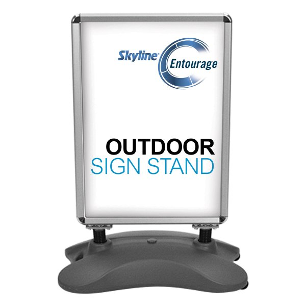 Outdoor Signage solution, Covid-19 Solutions, Skyline Entourage