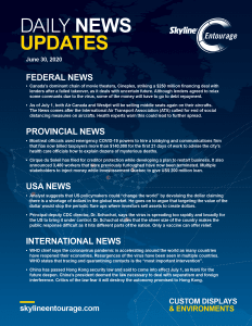 Covid-19 Daily News Updates - Download June 30, 2020 PNG