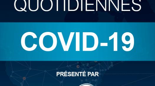 Mise à jours quotidiennes COVID-19