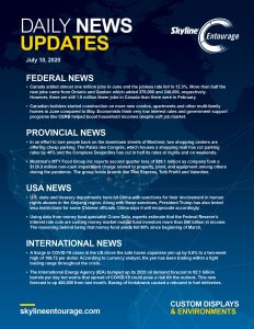 Covid-19 Daily News Updates - Download July 10, 2020 PNG