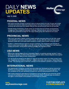 Covid-19 Daily News Updates - Download July 13, 2020 PNG