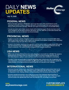 Covid-19 Daily News Updates - Download July 15, 2020 PNG