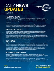 Covid-19 Daily News Updates - Download July 20, 2020 PNG