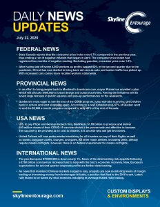 Covid-19 Daily News Updates - Download July 22, 2020 PNG
