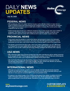 Covid-19 Daily News Updates - Download July 25, 2020 PNG