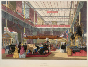 Painting of the The Great Exhibition for 1893 trade show, trade show solutions, Skyline Entourage