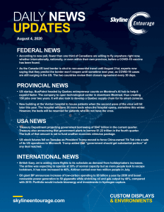 Covid-19 Daily News Updates - Download August 4, 2020 PNG