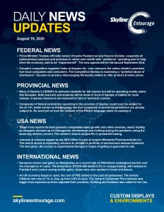 Covid-19 Daily News Updates - Download August 19, 2020 PNG