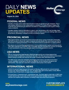 Covid-19 Daily News Updates - Download August 24, 2020 PNG