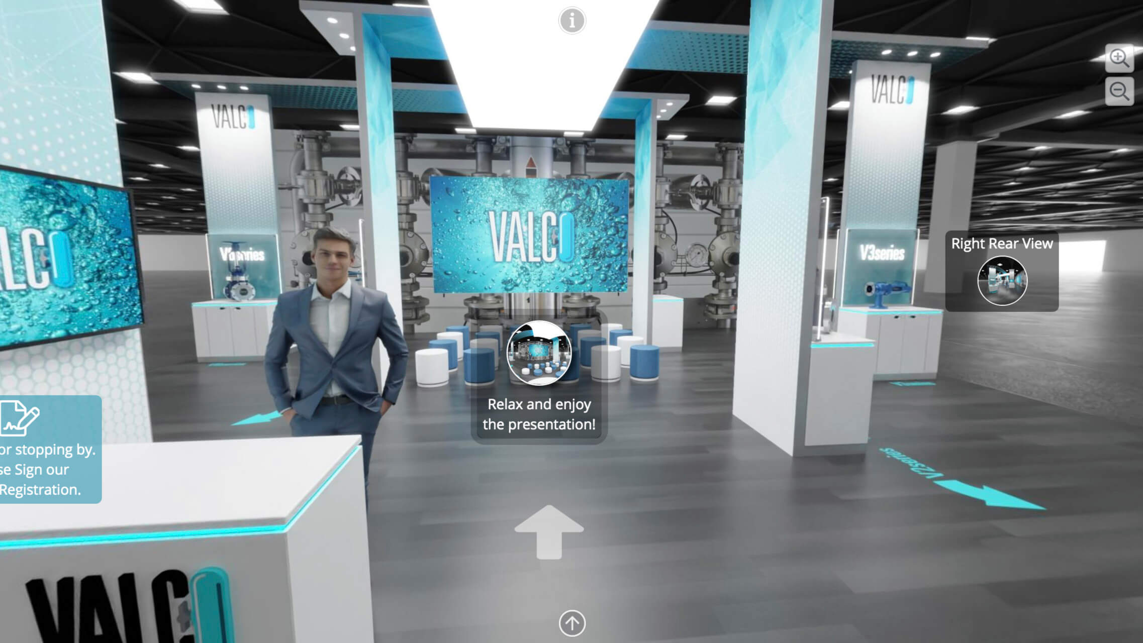 virtual exhibits, skyline entourage
