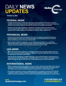 Covid-19 Daily News Updates - Download October 9, 2020