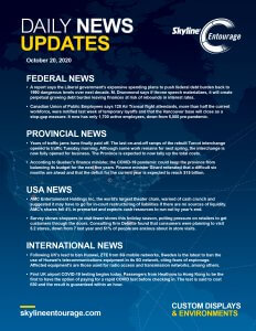 Covid-19 Daily News Updates - Download October 20, 2020