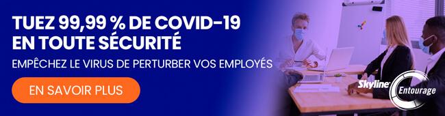 produit uvc, lampes de désinfection UVC, Solutions COVID-19, Skyline Entourage