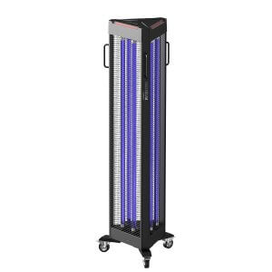 ultraviolet disinfection lamp, portable, safety,protection, covid-19, désinfection aux ultraviolets, skyline entourage