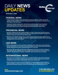 Covid-19 Daily News Updates - Download November 2, 2020 PNG