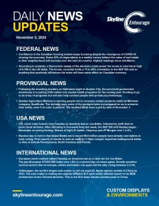 Covid-19 Daily News Updates - Download November 3, 2020 PNG