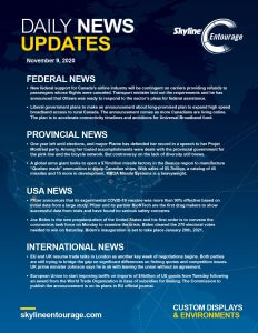 Covid-19 Daily News Updates - Download November 9, 2020 PNG
