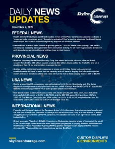 Covid-19 Daily News Updates - Download December 2, 2020 PNG