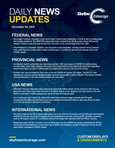 Covid-19 Daily News Updates - Download December 30, 2020 PNG