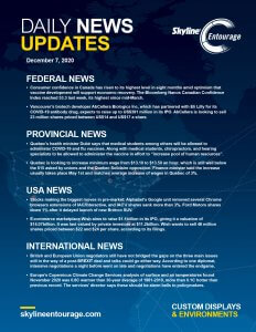 Covid-19 Daily News Updates - Download December 7, 2020 PNG