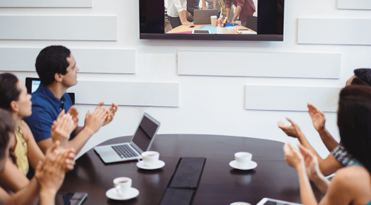 Video conference call, virtual events, Skyline Entourage